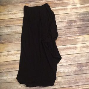 High Low or Asymmetrical Maxi Skirt